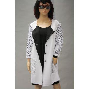 Wille Damen Jersey Mantel 5003135 bis Größe 52