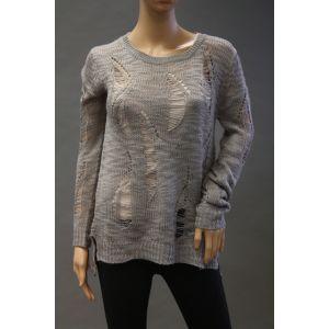 Eight2Nine Damen Pullover im Used Look D9011Z0440AEN