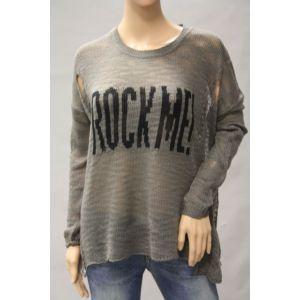 Sublevel Damen Pullover Vintage Style D9011Z90307B
