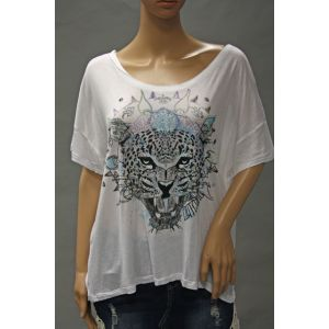 Eight2Nine Damen T-Shirt mit Druck D1264M00873AEN