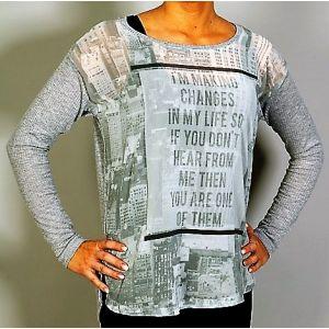 Sublevel Damen Shirt D1698V1274A